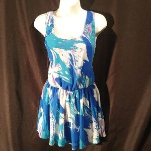 XXI Sleevless Blue Dress